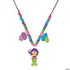 Mermaid Beaded Necklace Craft Kit