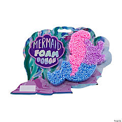 Mermaid Foam Dough Containers