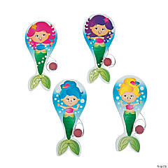 Mermaid Paddleball Games