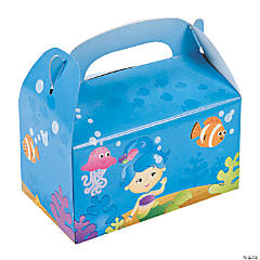 Mermaid Party Treat Boxes