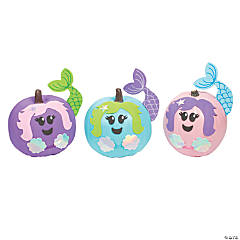 Mermaid Pumpkin Decorating Craft Kit