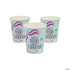 Mermaid Sparkle Cups