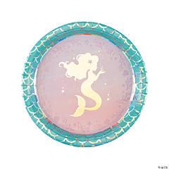 Mermaid Sparkle Dinner Plates