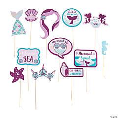 Mermaid Sparkle Icons Photo Stick Props