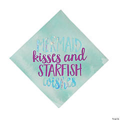 Mermaid Sparkle Luncheon Napkins