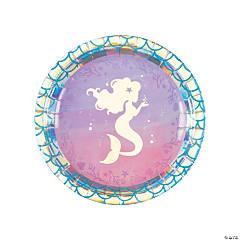 Mermaid Sparkle Luncheon Plates