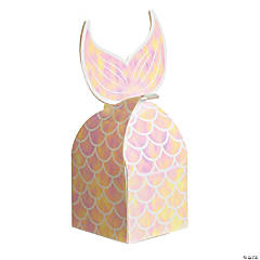 Mermaid Sparkle Tail Favor Boxes