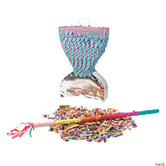 Mermaid Sparkle Tail Piñata Kit
