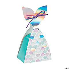 Mermaid Sparkle Tail Treat Boxes
