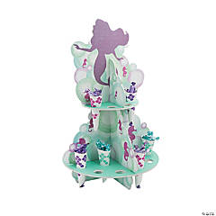 Mermaid Sparkle Treat Stand with Cones