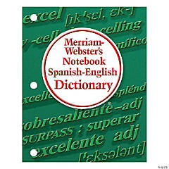 Merriam-Webster's Notebook Spanish-English Dictionary, Set of 6