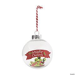 Merry Christmas Ornament Craft Kit