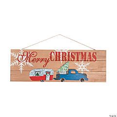 Merry Christmas Truck & Camper Sign