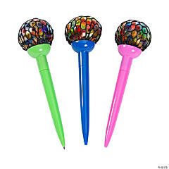Mesh-Covered Water Bead Pens
