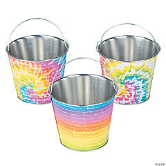 Metal Beach Bum Pails
