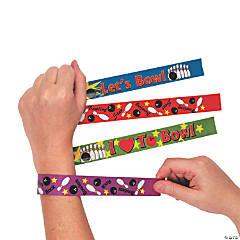Metal Bowling Slap Bracelets