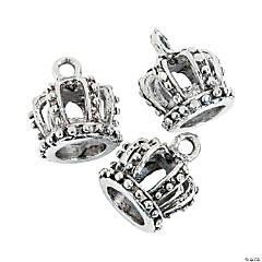 Metal Crown Charms