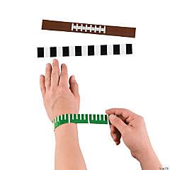 Metal Football Slap Bracelets