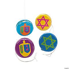 Metal Hanukkah Yo-Yos