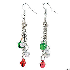Metal Jingle Bell Earring Craft Kit