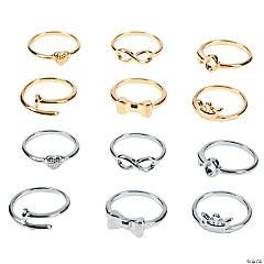 Metal Midi Rings