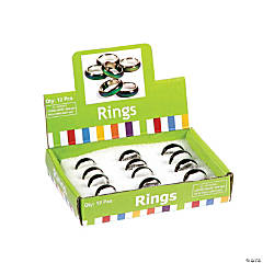 Metal Mood Ring Bands