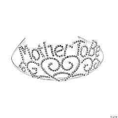 "Metal ""Mother To Be"" Tiara"