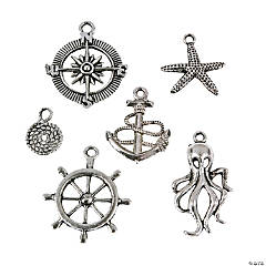 Metal Nautical Charm Assortment