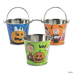 Metal Peanuts® Halloween Pails
