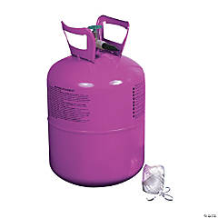Metal Small Helium Tank