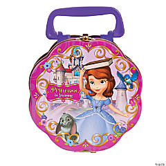 Metal Sofia the First Party Favor Container