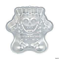 Metal SpongeBob Squarepants Cake Pan