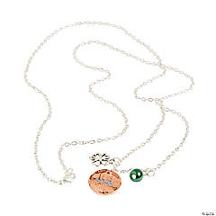 Metal St. Patrick's Day Lucky Necklace Craft Kit