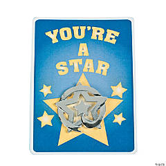 Metal Star Recognition Pins