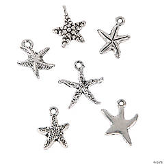 Metal Starfish Charm Assortment