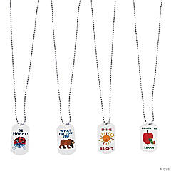 Metal The World of Eric Carle™ Dog Tag Necklaces