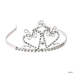 Metal Two Hearts Tiara - Less Than Perfect