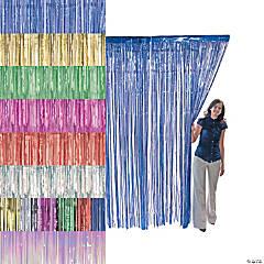 Metallic Fringe Door Curtains
