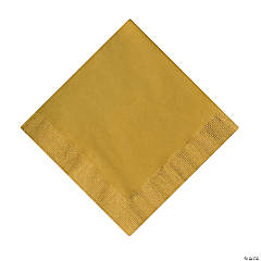 Metallic Gold Napkins