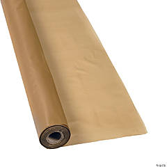 Metallic Gold Tablecloth Roll