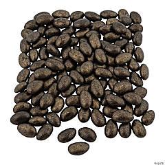 Metallic Gold/Black Shimmer Jordan Almonds