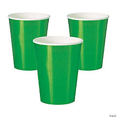 Metallic Green Cups