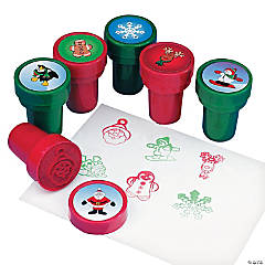 Metallic Holiday Stampers