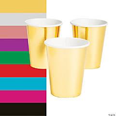 Metallic Paper Cups - 24 Ct.