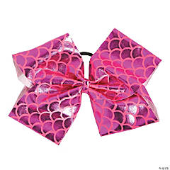 Metallic Pink Dance Star Bow