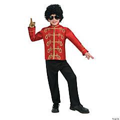 Michael Jackson Military Jacket Boy's Halloween Costume