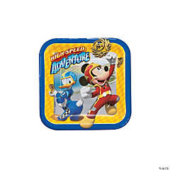 Mickey & the Roadster Racers Dessert Paper Plates - 8 Ct.