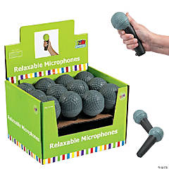 Microphone Stress Toys