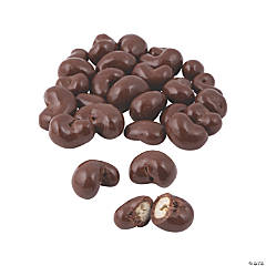 Milk Chocolate-Covered Cashews - 1 lb.