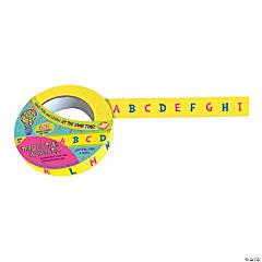 Mind Sparks™ Teach & Tear Tape™ - Alphabet